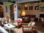 ground floor lounge, light-well area