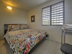 You can have 2 queen bedrooms for only $100 extra per night!
