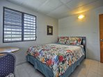 This upstairs bedroom is available for an additional fee.