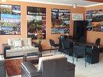 Sala de espera y de información de turismo