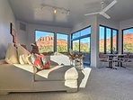 Escape to the desert for a one-of-a-kind getaway at this vacation rental studio in Sedona!