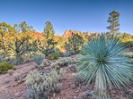 The property is bound on 2 sides by the Coconino National Forest.