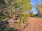 Get some fresh air as you walk around the property.