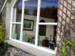 Large front window