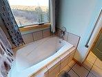 Bathtub with view