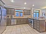 Fully Equipped Kitchen with Updated Stainless Appliances and Granite Countertops