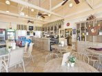 Poolside restaurant/bar