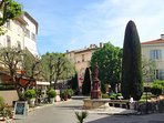 Visit Mougins, a beautiful hill top village with amazing views.