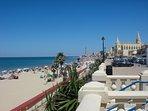 Playa de Regla, a solo 5 minutos andando de la casa.