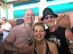 Share a beer with Eddie Jordan if you're lucky!