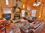 Cozy Leather furnishings