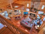 Arial View of Living Space