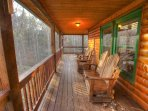 Back Deck w Plenty of Seating