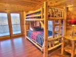 Lower Level Bedroom w/ Bunkbeds
