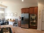 Stainless Steele Appliances Open Concept