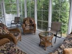 Brand New Screened in Porch.
