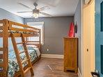 Main Level Bedroom w/ Single Bunk Bed
