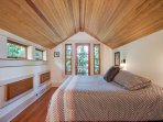 A second king size bed in this next bedroom which also has a private walk out balcony.