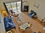 Loft View of Living Room