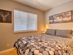 Rise and shine with ample natural sunlight through the window.