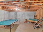 Host a family ping-pong tournament in the game room!