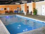 Indoor pool open year-round