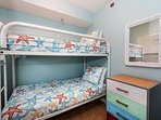 GD 412 features a BONUS bunk room- perfect for the little ones!