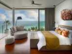 Malaiwana Penthouse - Stunning bedroom outlook
