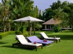Chalina Estate - Sun loungers and Pavillion III