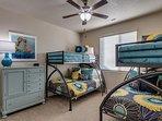 Bunk Room  - 2 sets of twins over fulls - Main floor