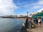 Playa Blanca - Sea Front with an Excellent Choice of Restaurants and Shops