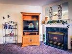 Seasonal Gas Fireplace