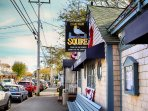 Grab a drink at the Squire! The local watering hole. Also serving lunch and dinner - Chatham Cape Cod - New England...