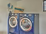 In-unit laundry machines make it easy to keep your clothes fresh and clean.