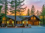 Set high on a ridge and tucked between trees, this home has astounding views and unbeatable comfort.
