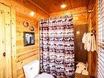 Main Level Master King Bathroom -