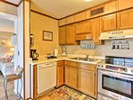 Make your way into the fully equipped kitchen to prepare home-cooked meals for the group.