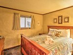 Choose from one of the 2 bedrooms to store your belongings.