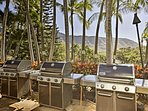 Grill your favorite foods while looking out to the beautiful landscape.