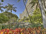 The Makaha Valley Towers offers a first-come, first-served parking lot.