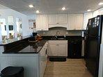 Spacious updated kitchen
