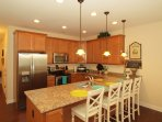 Kitchen w/ Granite and Extra Seating