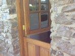 Stable rear door
