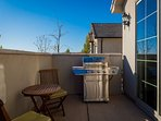 Grill and patio set