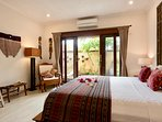 FULLY AIR CONDITIONED MAIN BEDROOM