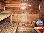 Ten Mile Island Sauna