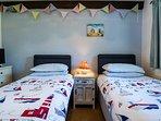 Foxglove Bedroom 2 - Twin Beds