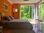 chambre rousseau, lit king size, 180x200