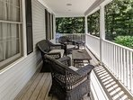 Front Porch Seating Area,