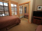 Flat screen TV in second bedroom